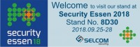 Металлоискатели Sphinx на выставке Security Essen 2018